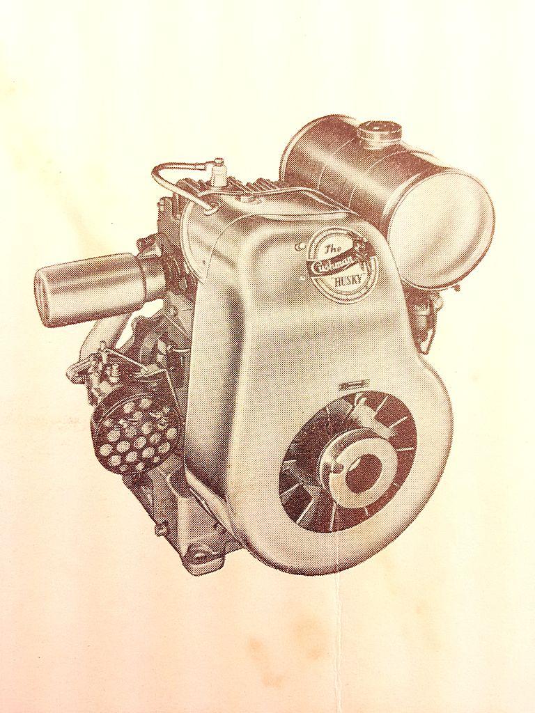 1952 CUSHMAN Husky Engine M6 M7-2 M7-3 M8 Engines