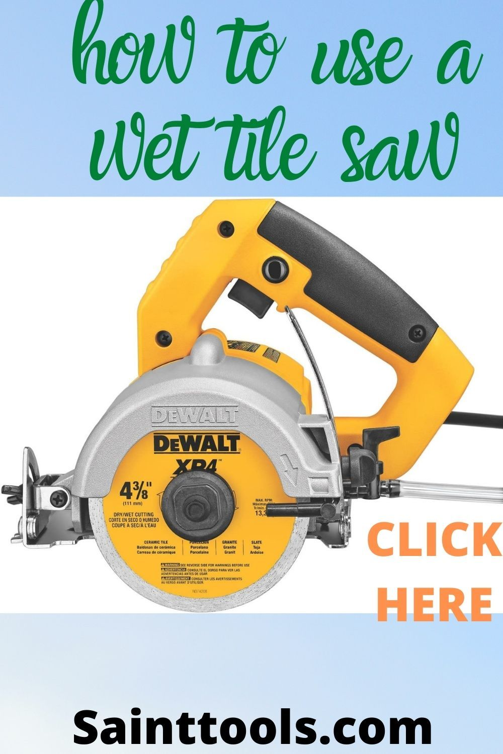 pin on wet tile saws