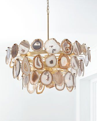 John richard collection agate sliced 15 light chandelier luxury lightinghouse lightingcontemporary