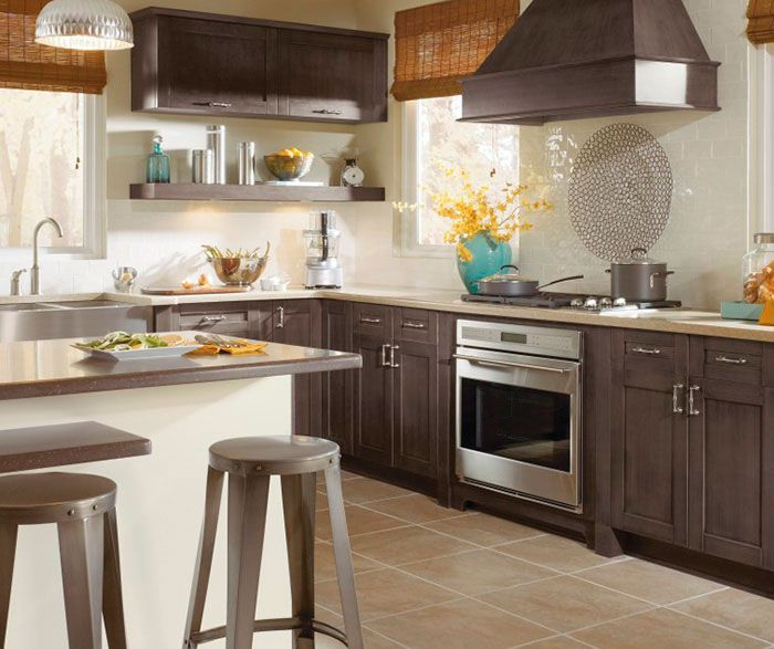 Best Shaker Style Cabinets In Casual Kitchen By Kitchen Craft 400 x 300