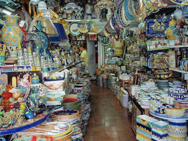 ceramics in Vietri sul Mare