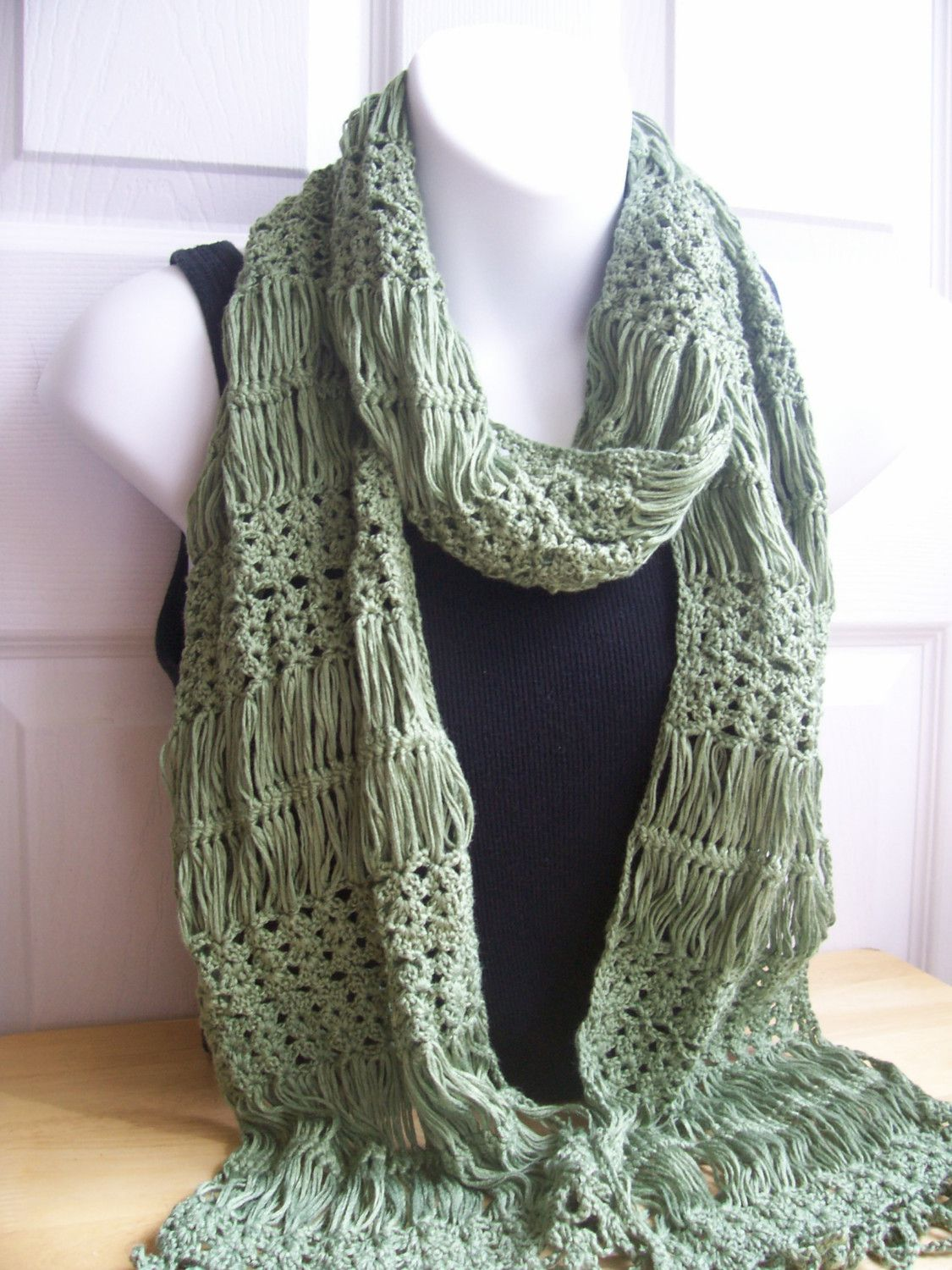 Hairpin lace scarf yarn crafts pinterest scarves crochet hairpin crochet pattern hairpin lace scarf bankloansurffo Image collections