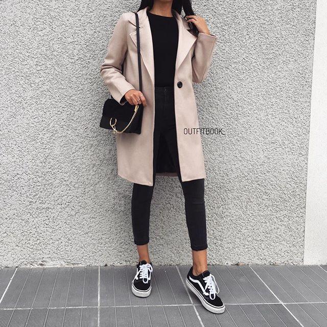favourite coat everrr 🙌🏼 vous l'avez adoré le voici de