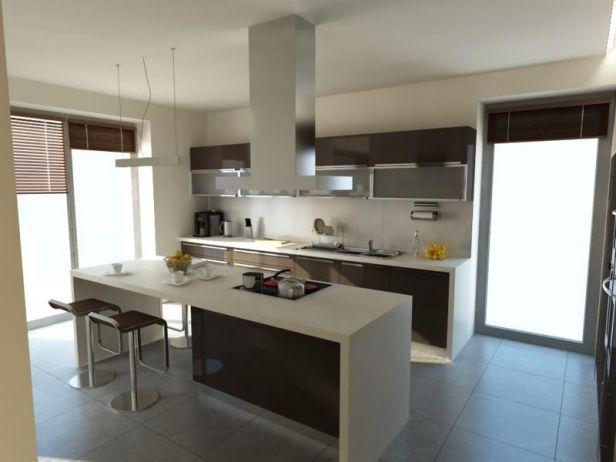 Barek Miedzy Kuchnia Salonem Google Search Kitchen Home Decor Home