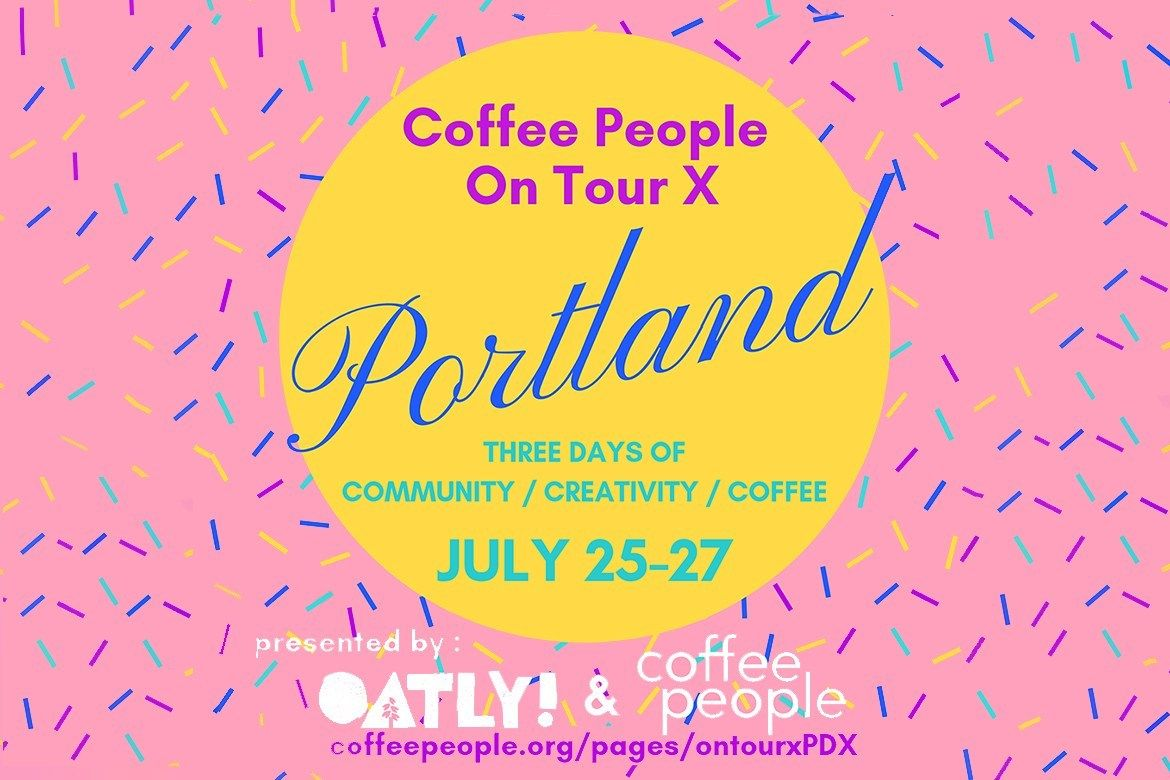 Coffee people zine heads to portland for a weekend of