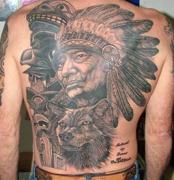 tatouage indien 10 indien et ours pinterest tatouage tatouage indien et indien. Black Bedroom Furniture Sets. Home Design Ideas
