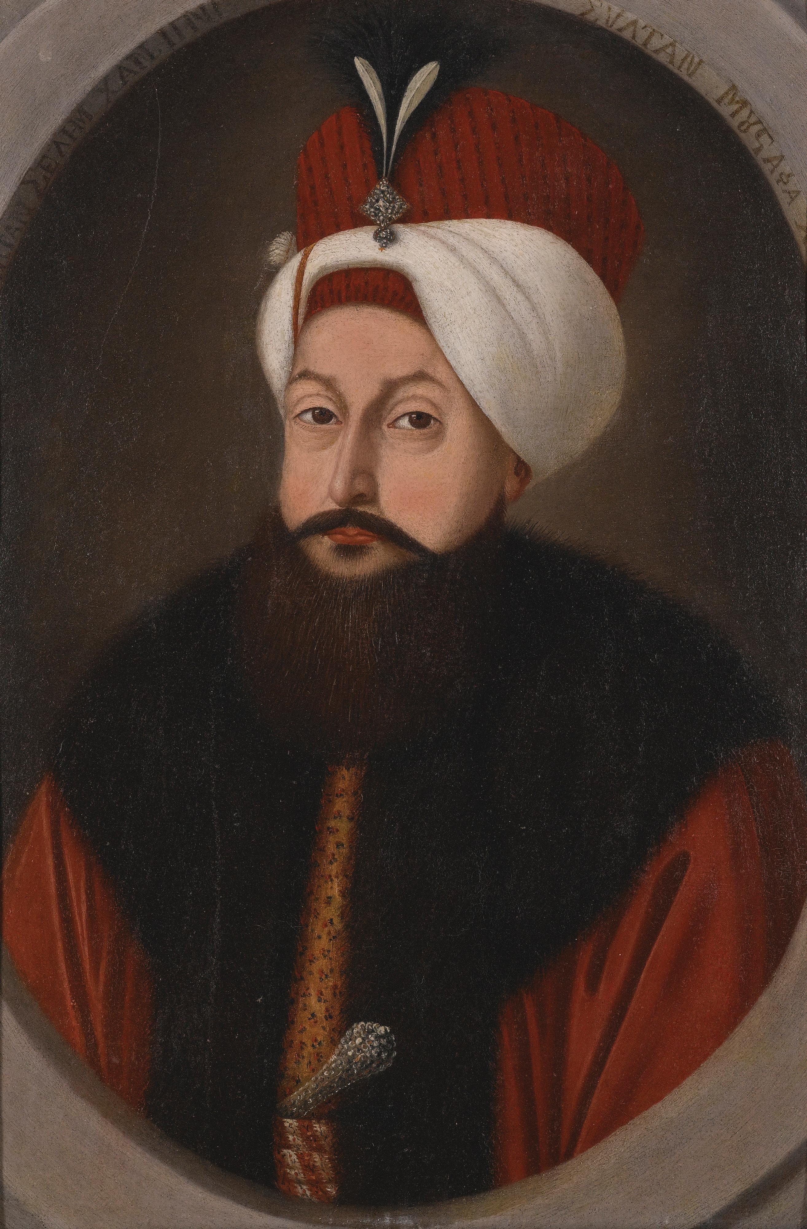 Kostantin Kapidagli Portrait Of Sultan Selim III ...