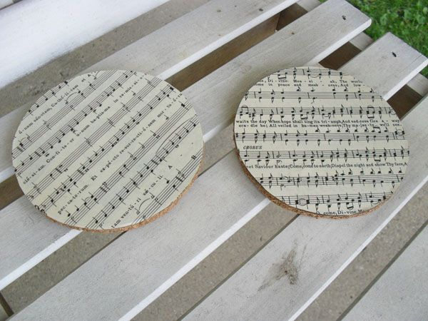 Upcycled CD coaster tutorial. Easy and CHEAP!