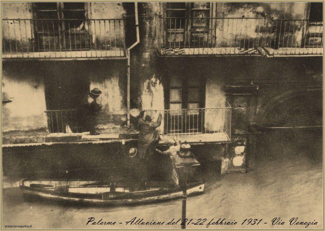 Palermo – Alluvione del 21-23 febbraio 1931   Palermo