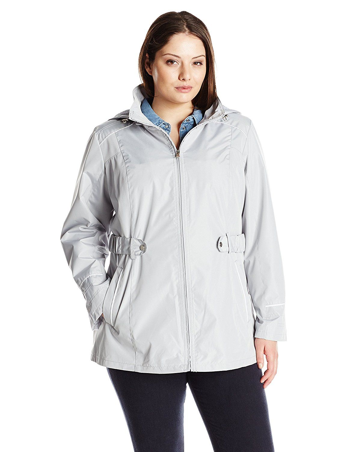 ede8cc7a50cc4 Weathertamer Women s Plus-Size Anorak with Hood    Unbelievable item right  here!