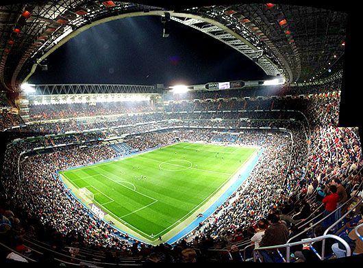 Estadio Santiago Bernabéu Bernabeu Real Madrid Fútbol Santiago Bernabeu