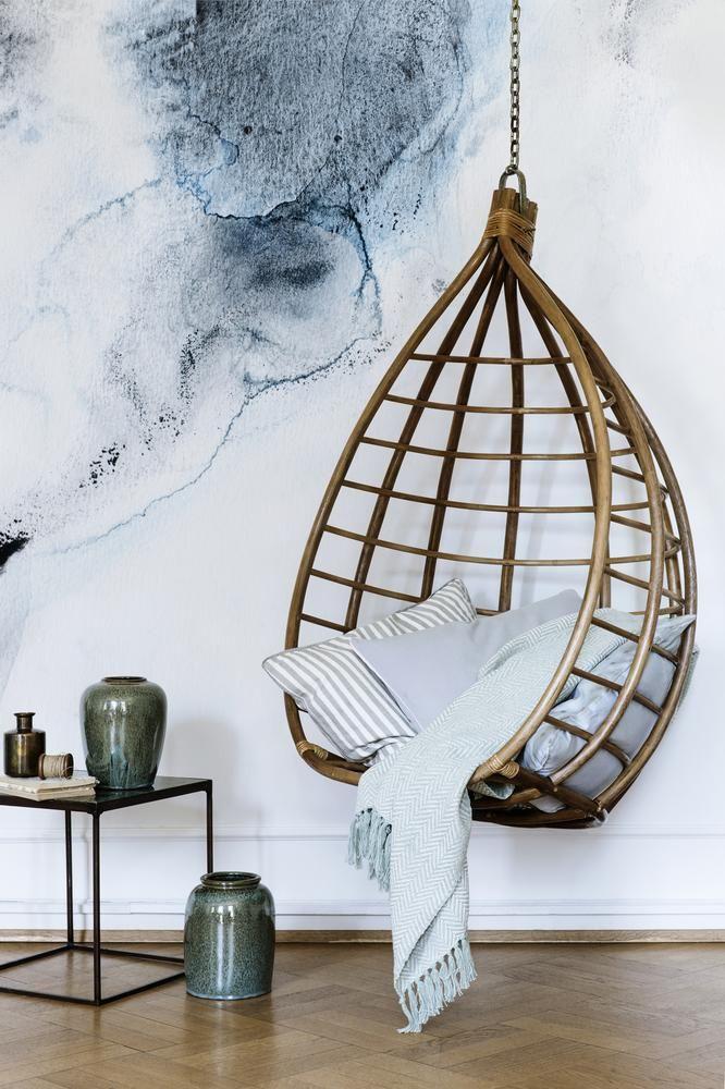 Hängesessel Für Die Wohnung Zimmer Wandfarben Ideen Wohnraum