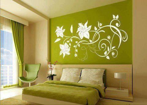 Pistachio Green Bedroom