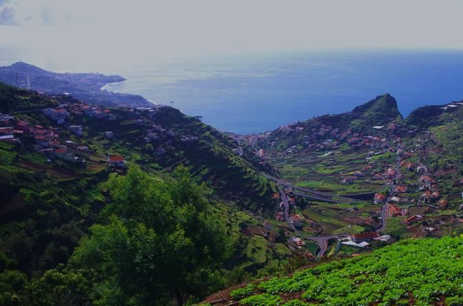 """The Best of Madeira Island in One Day Private Tour: Madeira is considered the pearl of the Atlantic Ocean, with a luxuriant vegetation, astonishing landscapes and enchanted villages. Sea, Nature and Lifestyle, all together in one of the most beautiful islands in the world! In this tour you will first know the Sanctuary of """"Nossa Senhora do Monte"""", the oldest in Madeira. After that, we will take you to the Natural Park of """"Ribeiro Frio"""", to see the trouts and one of the most be..."""