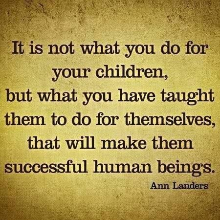 Great Advicei Need To Follow This And Give My Boys A Little More