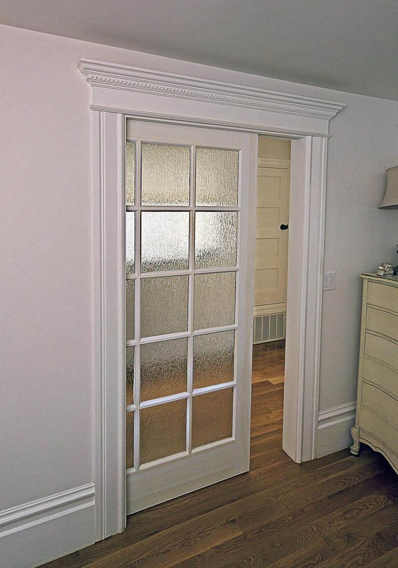 Interior Cool White Victorian Wall Sliding Door Interior With