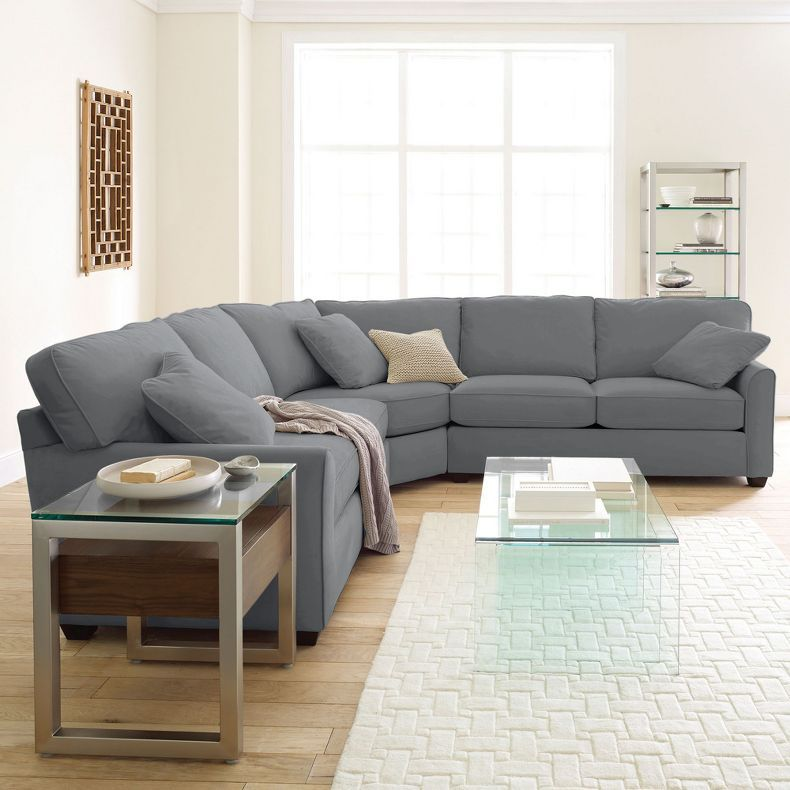 Jcpenney Possibilities Sharkfin Arm 3 Pc Loveseat Sectional