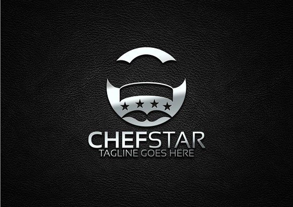 Chef Logo Template by Josuf Media on @creativemarket CREATİVE - chef templates