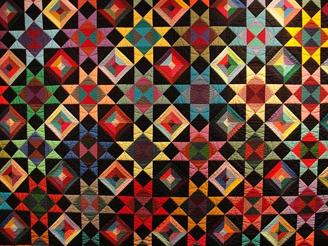 Colorful Quilt Amish Quilts Pinterest Lancaster Patchwork And
