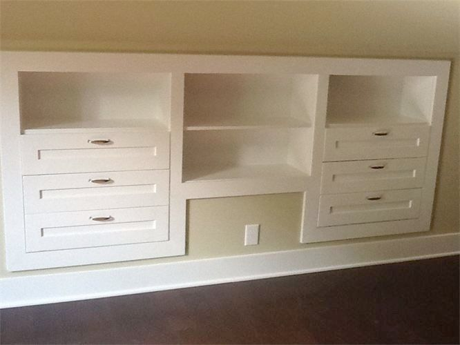 Awesome Knee Wall Storage Drawers Knee Wall Storage