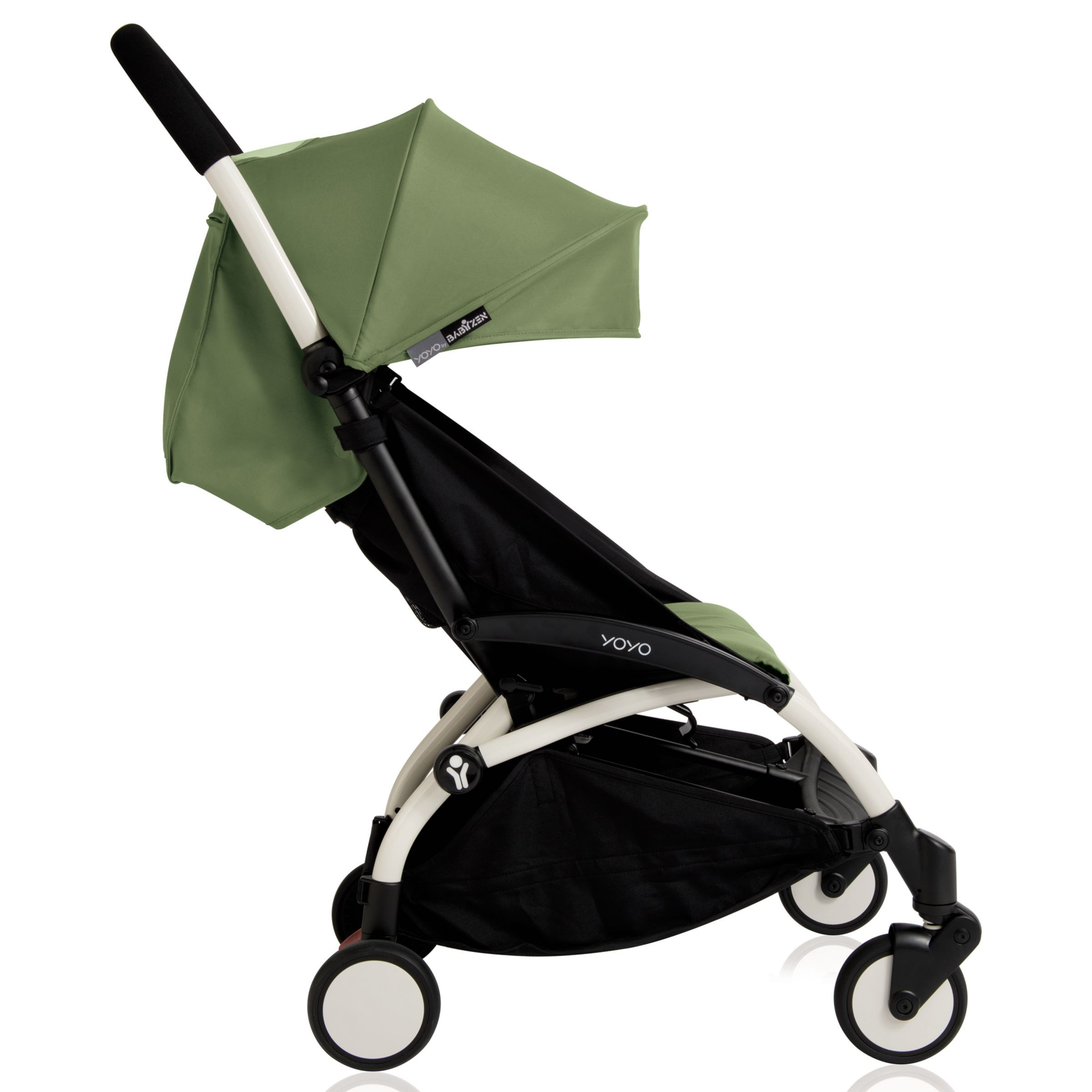 BABYZEN YOYO+ Pushchair, White/Peppermint Urban stroller