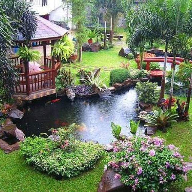 Back yard oasis!  I want it!