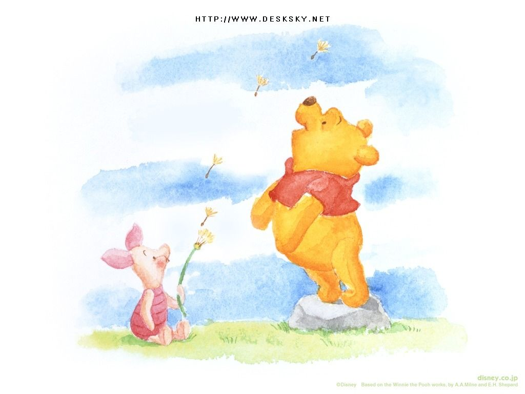 Winnie Pooh Paint For Desktop Background 13 Hd Wallpapers Tegninger
