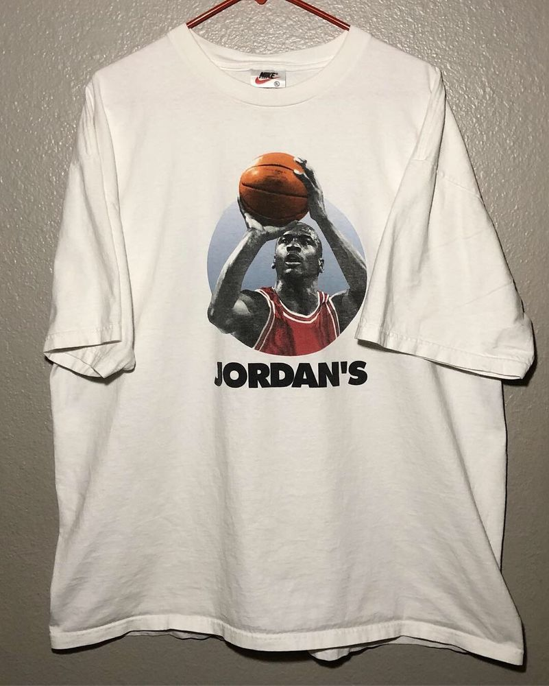 f9ad01e3bb45 Space T Shirts Ideas  spaceshirts  spacetshirts Vtg 90s Nike Jordans Back T  Shirt Sz XL Space Jam Spike Lee Kobe Lebron -  65.00 End Date  Friday ...
