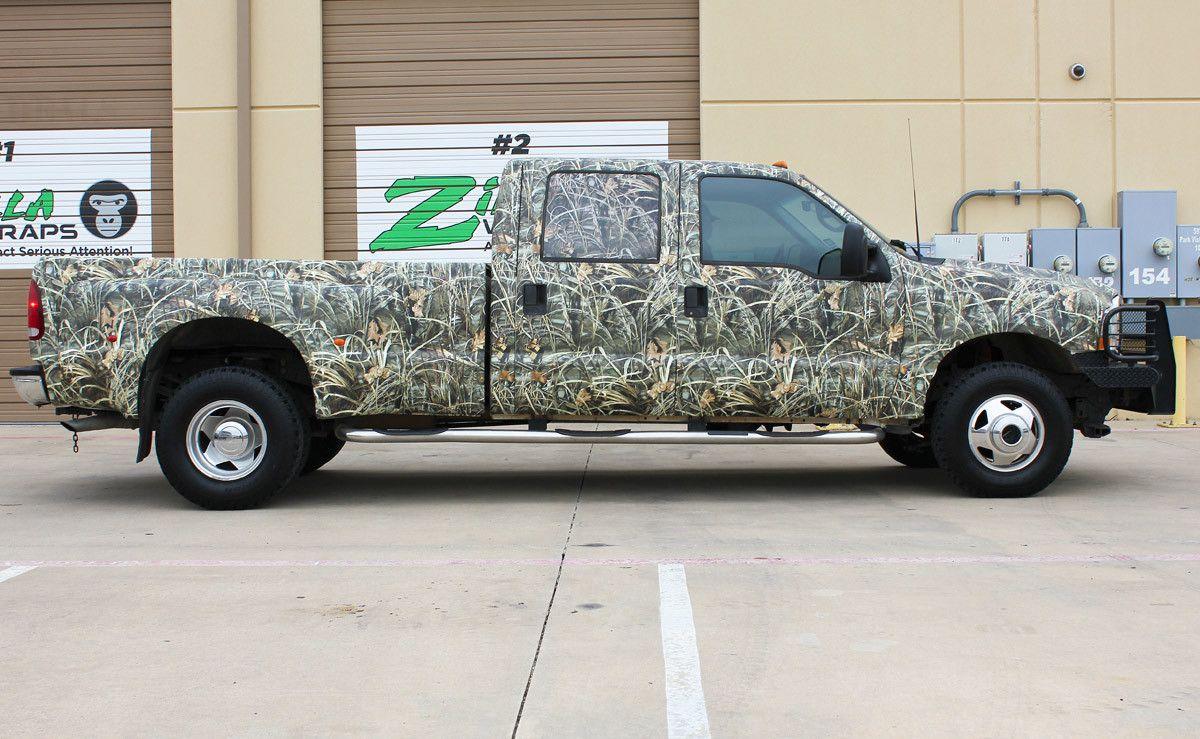 realtree camo truck wrap vinyl camo wraps camo truck. Black Bedroom Furniture Sets. Home Design Ideas