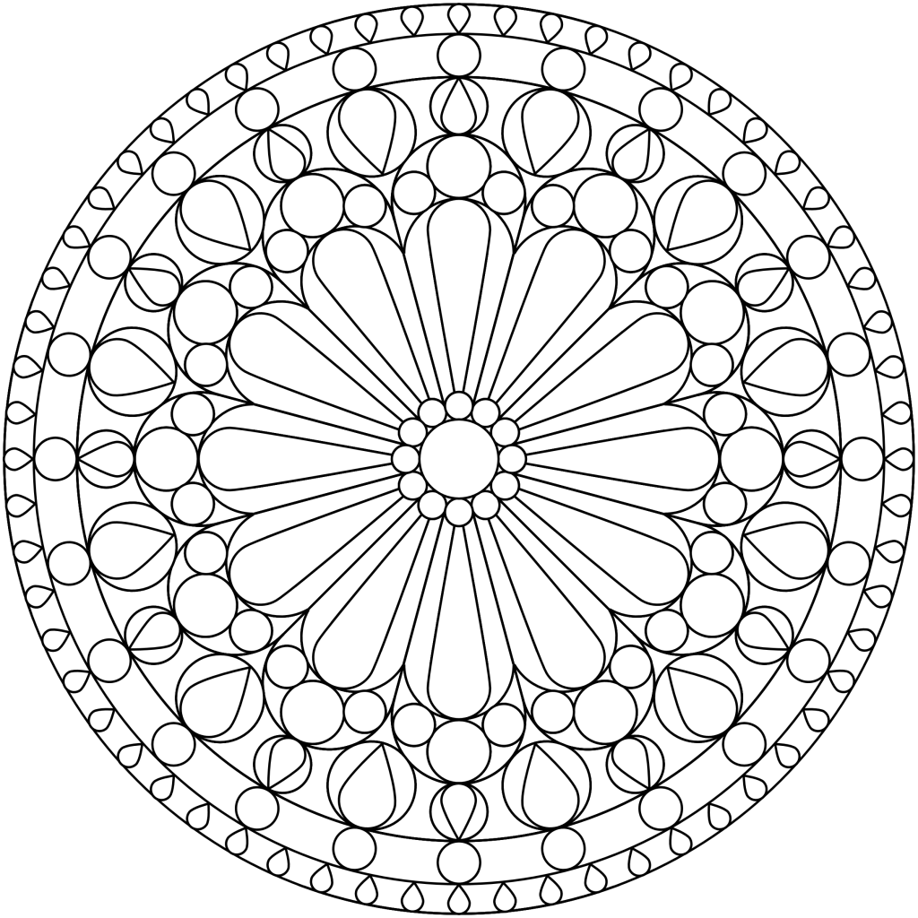 Free coloring pages for young adults - Free Printable Mandala Coloring Pages Free Mandala Coloring Pages For