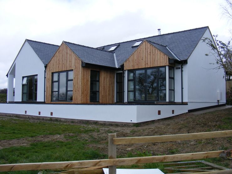 Contemporary bungalow design google search property for Modern house designs uk