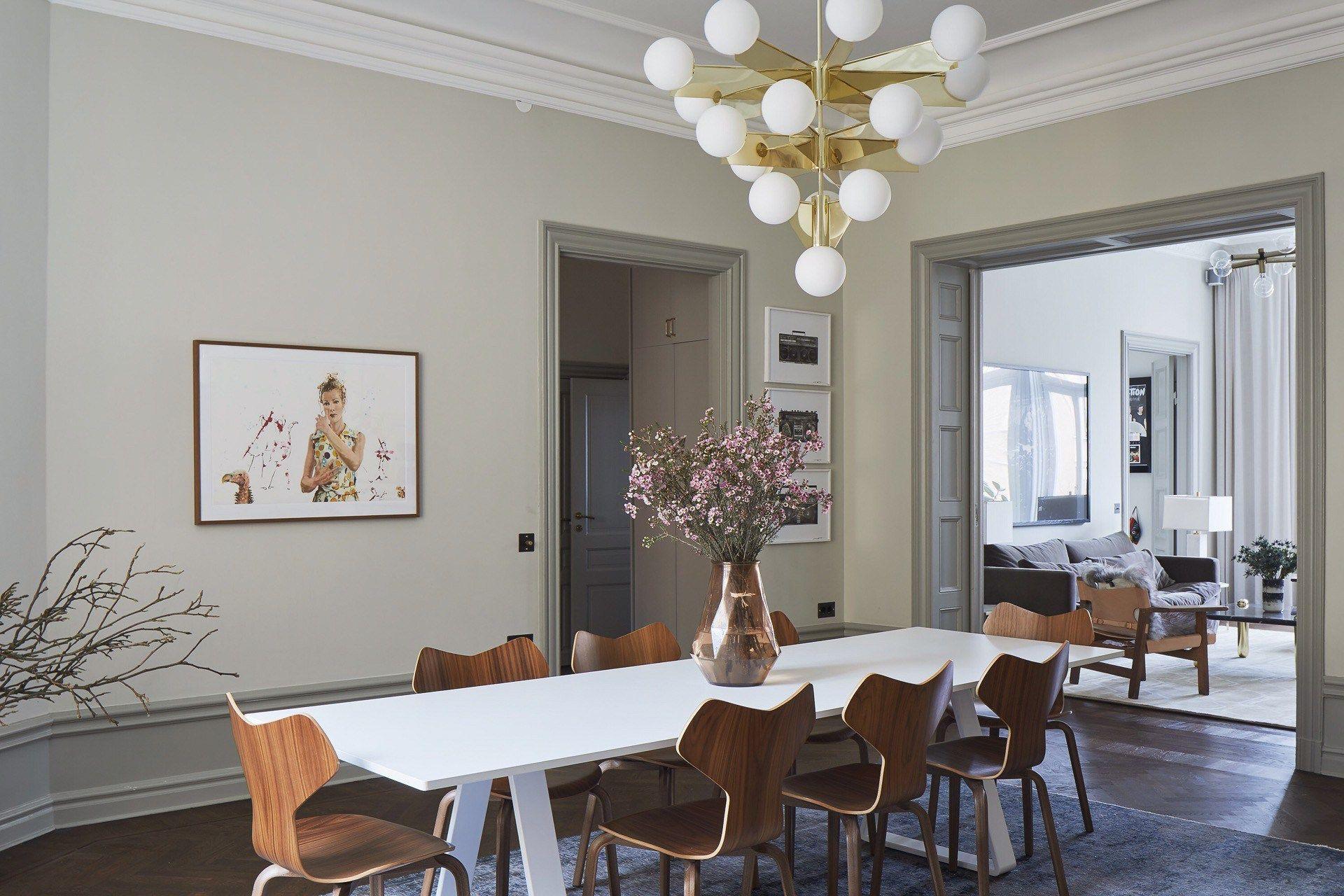 Decoration Maison Ancien Et Moderne home tour: the new softer side of scandinavian | décoration