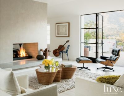 Modern Neutral Living Room with Coffee Table by oggetti from Hyon - new blueprint interior design magazine