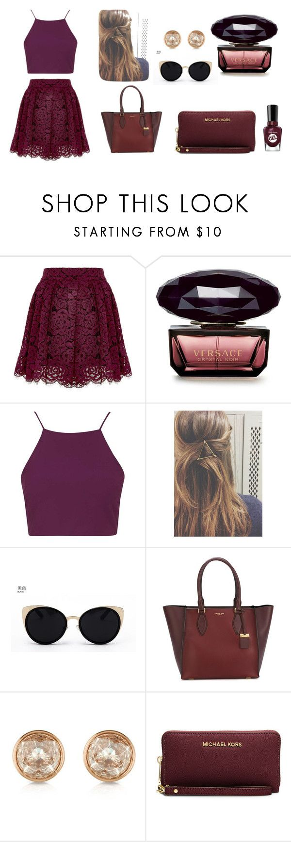 """""""#Beautiful"""" by hannah-wood-863 ❤ liked on Polyvore featuring Topshop, Una-Home, Michael Kors and MICHAEL Michael Kors"""