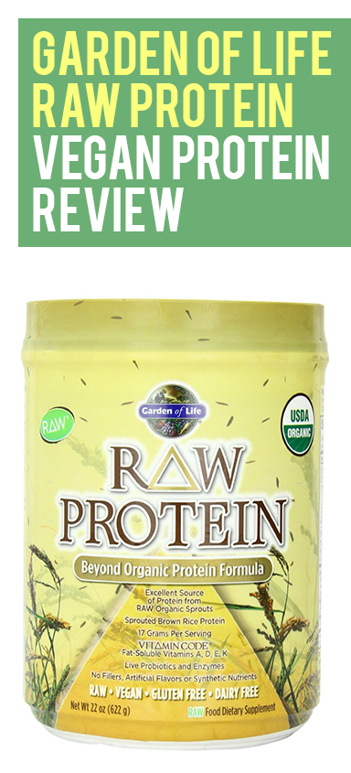 Garden of Life RAW Protein is an excellent source of raw