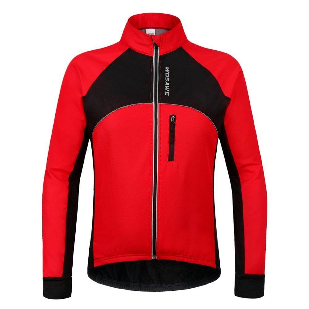 07fe8a6f3 Wolfbike WOSAWE Men s Cycling Fleece Thermal Winter Jacket in 2019 ...