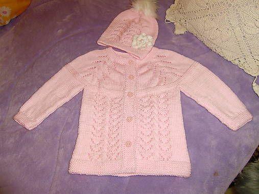 fdac3b08475d Detské oblečenie - Detský háčkovaný svetrík - 8373743