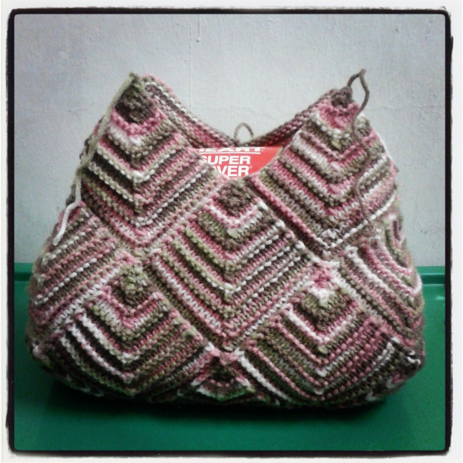 Made by faz mitered square knit bag domino strik pinterest made by faz mitered square knit bag bankloansurffo Gallery