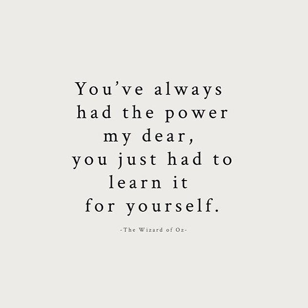 You've always had the power. @kylie_letters #mondayinspiration by freepeople
