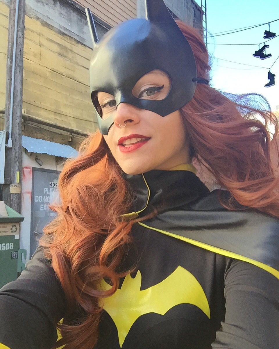 Batgirl Selfie Photoshoot Shot By Steve Dement In Downtown Austin
