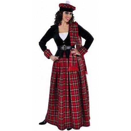 deguisement femme ecossaise