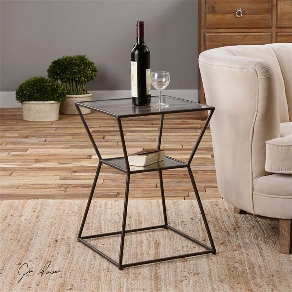 Uttermost Auryon Iron Accent Table 24438 In 2019 Products
