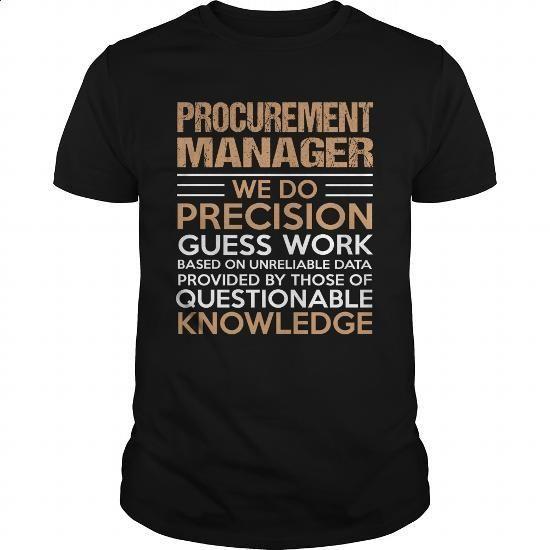 Procurement Manager Womens Men Shirts Similar Items Https