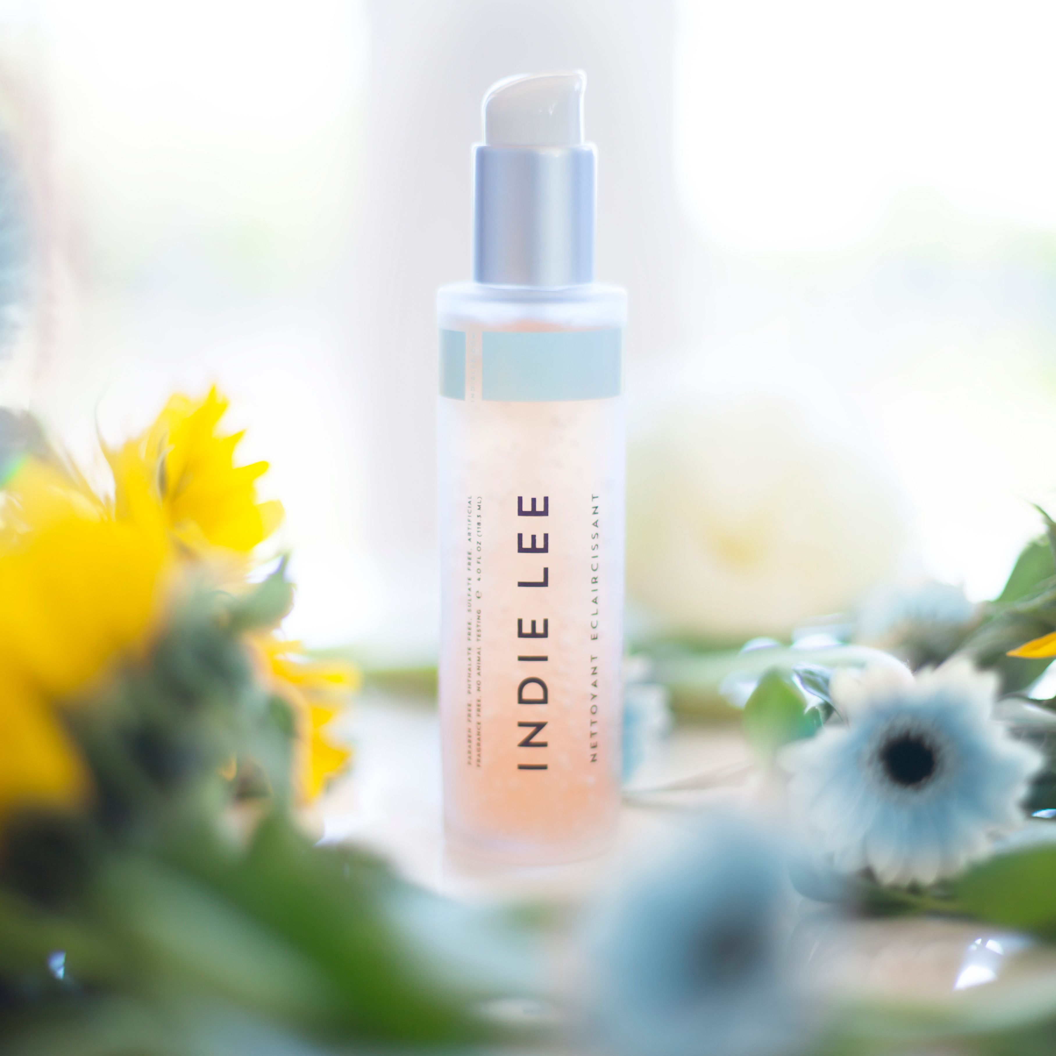 Indie Lee Brightening Cleanser skincare greenbeauty