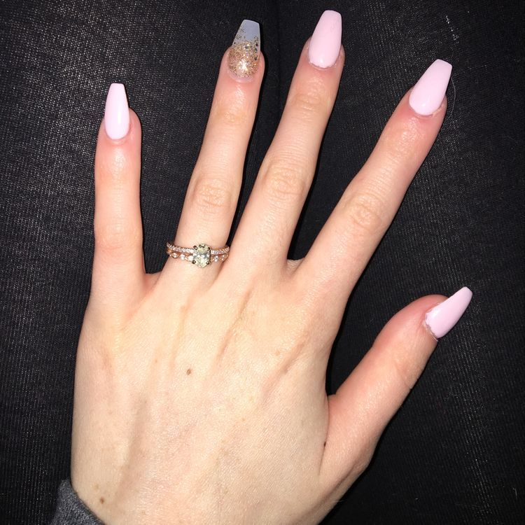 94 Short Acrylic Nails For Almond Coffin Square Point Round Nails Koees Blog Short Acrylic Nails Diy Acrylic Nails Round Nails