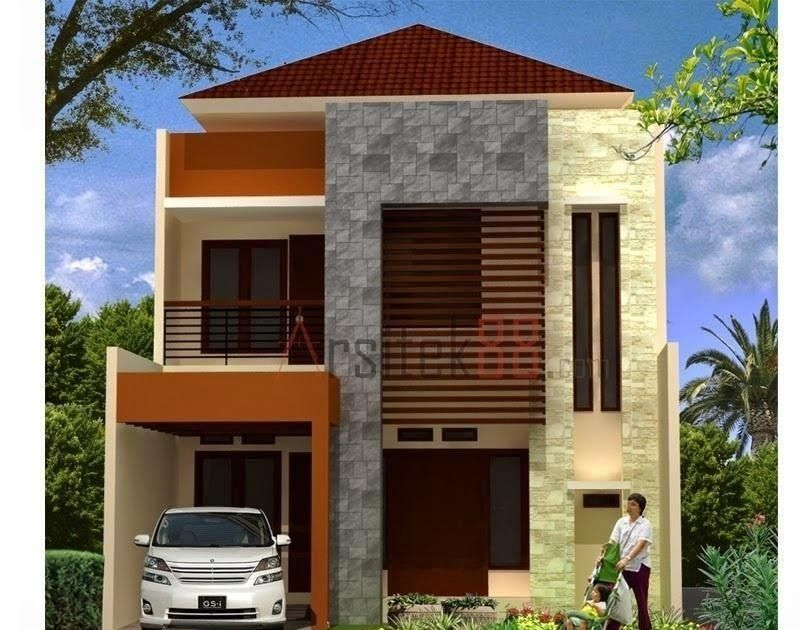Contoh Rumah Minimalis 2 Lantai Type 21 - Content