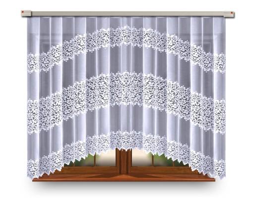 Firanka Firana Gotowa Zakardowa 160x300 Promocja Printed Shower Curtain Curtains Shower Curtain