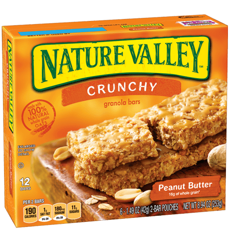 Nature Valley Crunchy Peanut Butter Granola Bars 6ct Accidentally Vegan Foods Nature Valley Crunchy Granola Bars Natural Valley Granola Bars