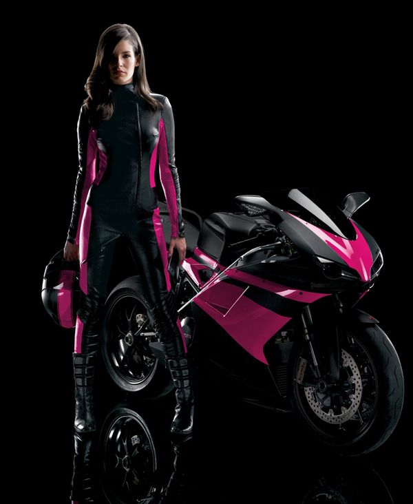 I Am Still A Scooter Girl But If I Ever Got An Actual Motorcycle This Is The Idea Someday When I Have Money For More T Motorcycle Girl Scooter Girl Pink
