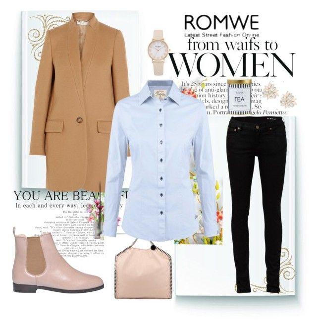 """February Look"" by kmosenova-karolinka14 ❤ liked on Polyvore featuring Kate Spade, ANNA BAIGUERA, STELLA McCARTNEY, Yves Saint Laurent, DUBARRY, Cara, women's clothing, women, female and woman"